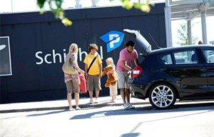 Smart parking op schiphol Amsterdam